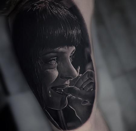 Tattoos - Pulp Fiction Tattoo - 133818