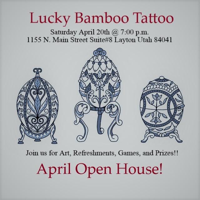 Lucky Bamboo Tattoo :