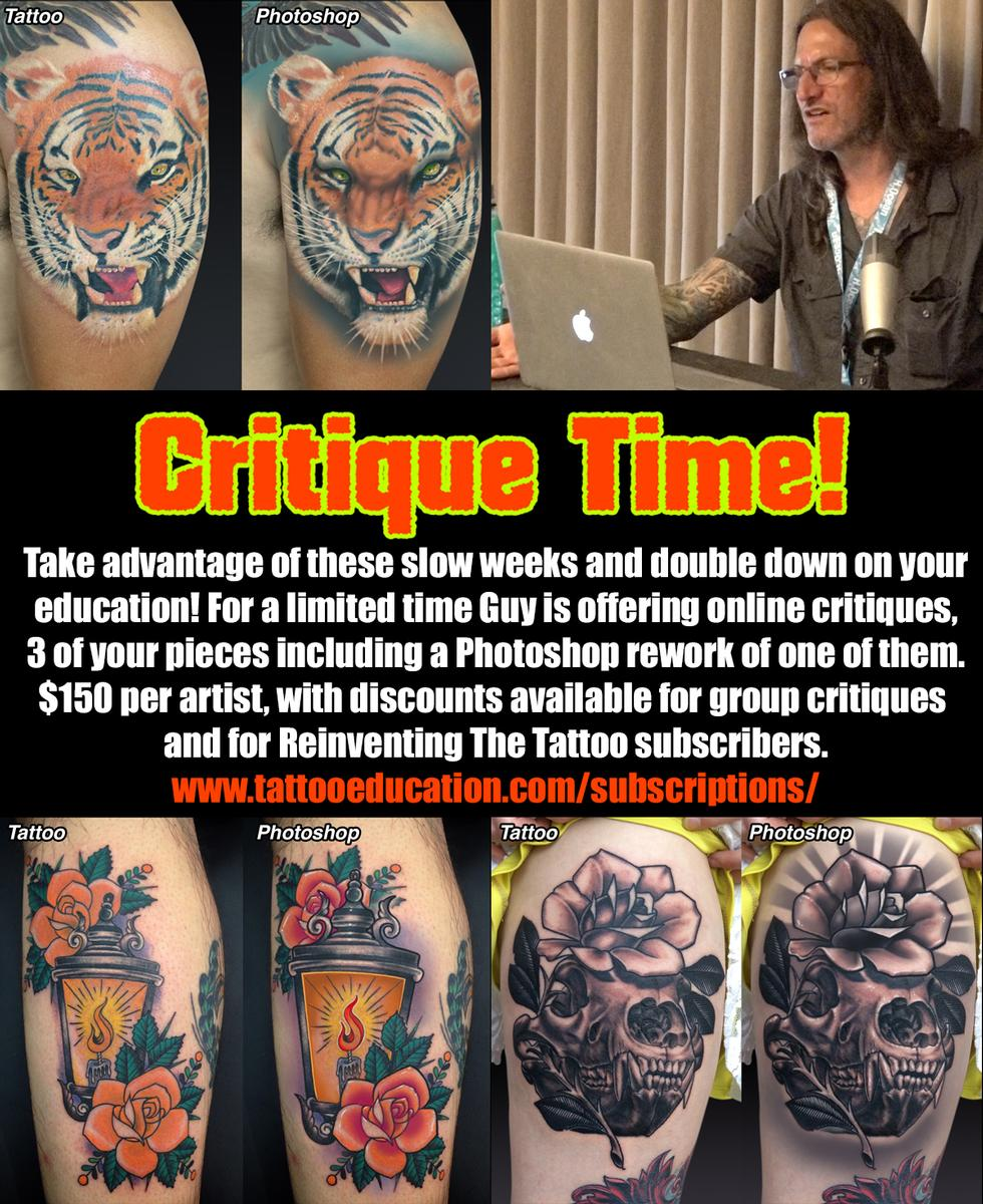 Tattoo Critiques from Guy Aitchison