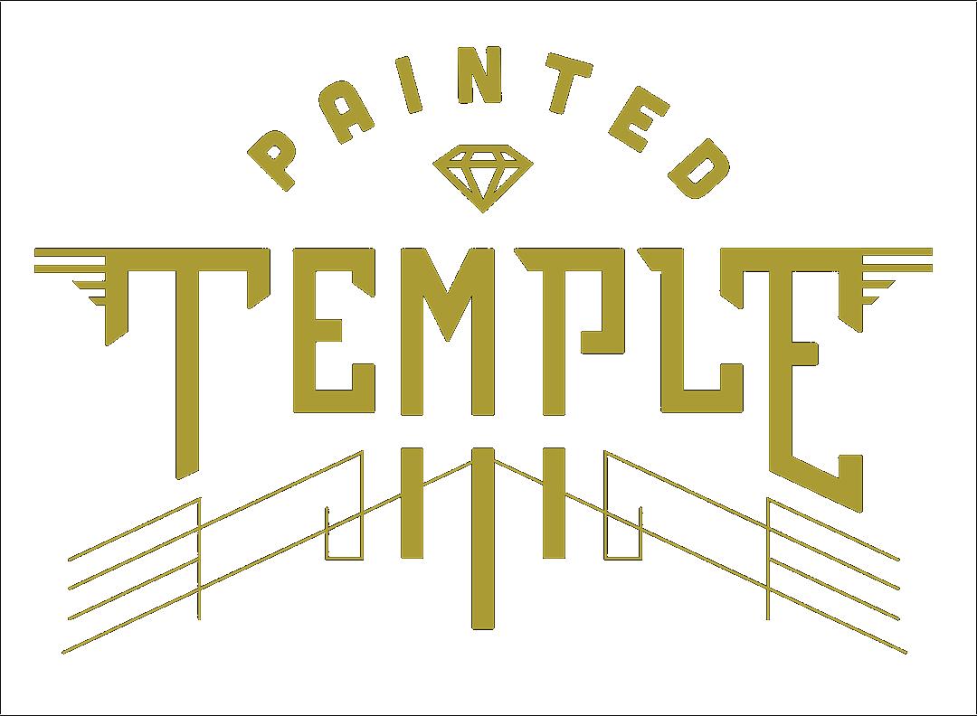 Painted Temple Tattoo - Utah