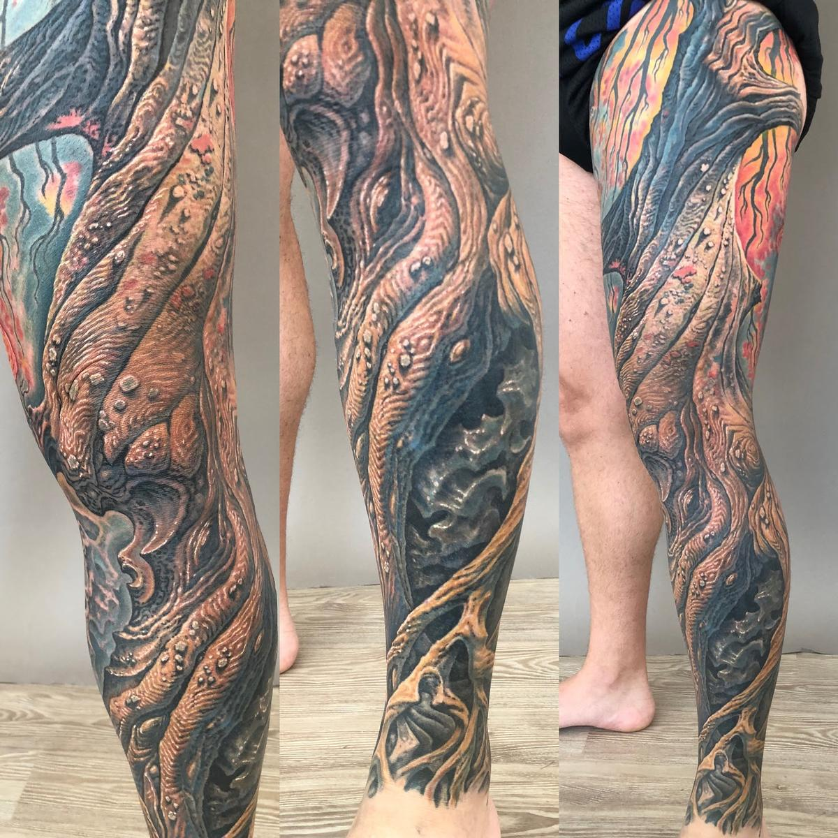 guy aitchison bio sleeve tattoo