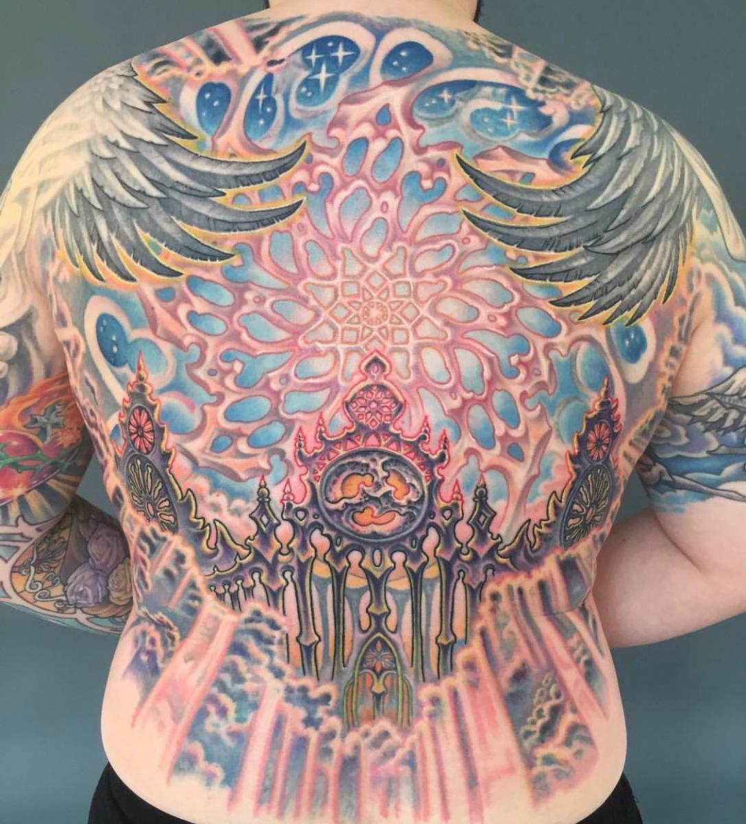 Backpiece Tattoo Design