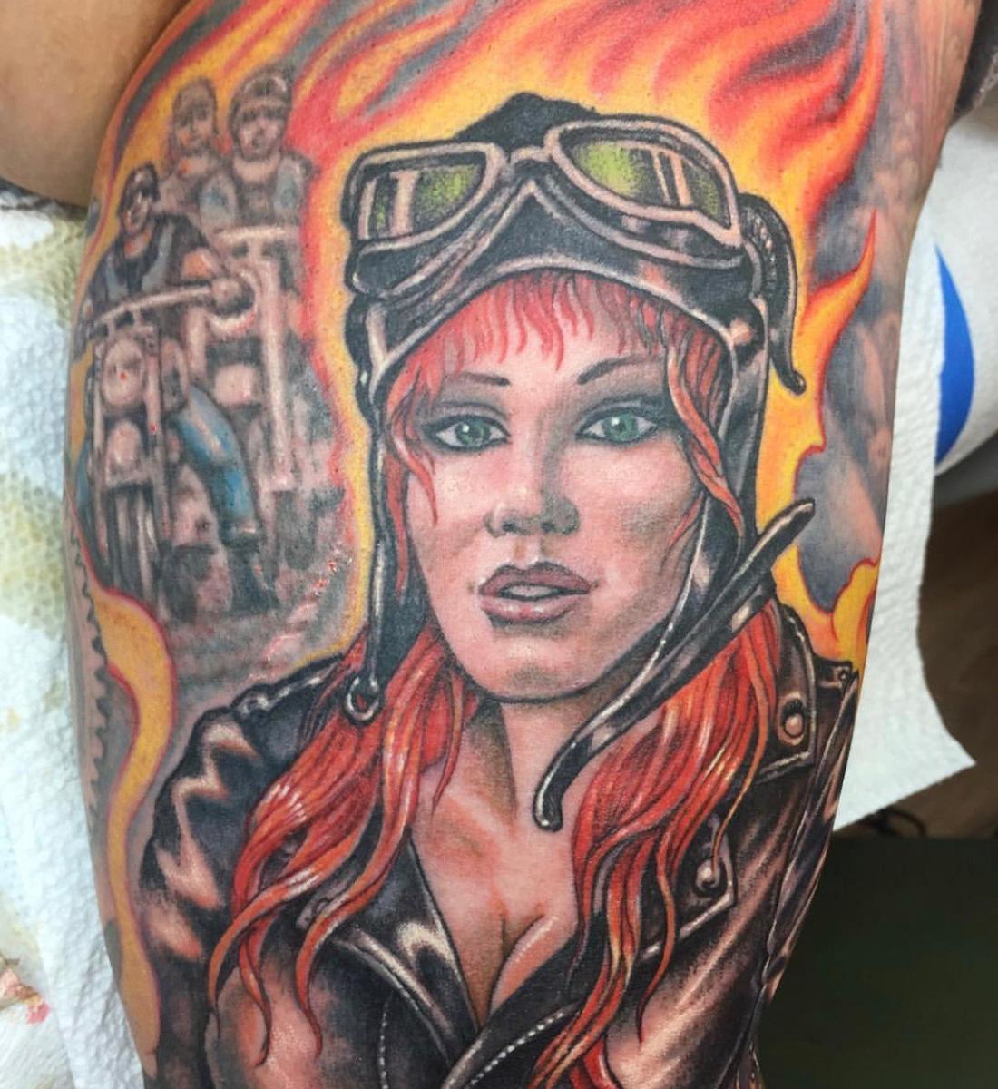 Reinventing the Tattoo - Multi-layered Tattoos