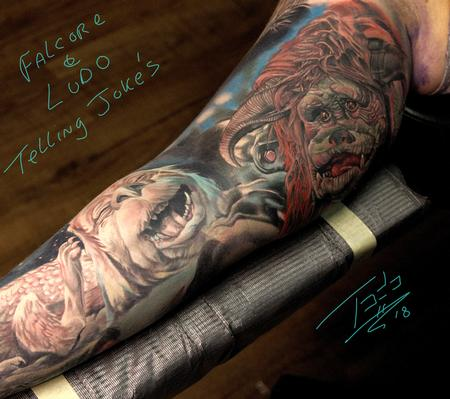 Tattoos - Telling jokes - 132892
