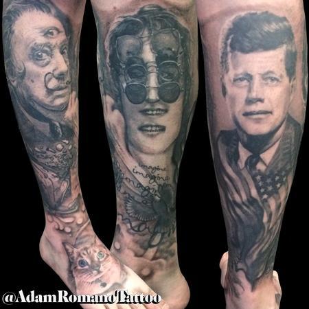 Tattoos - Surrealism Leg Sleeve - 129297