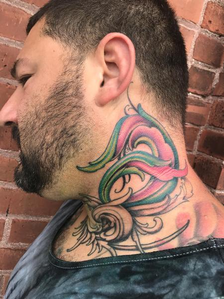 Tattoos - Organic neck thingy - 128989
