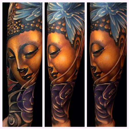 Tattoos - Likeness of Buddha  - 93474