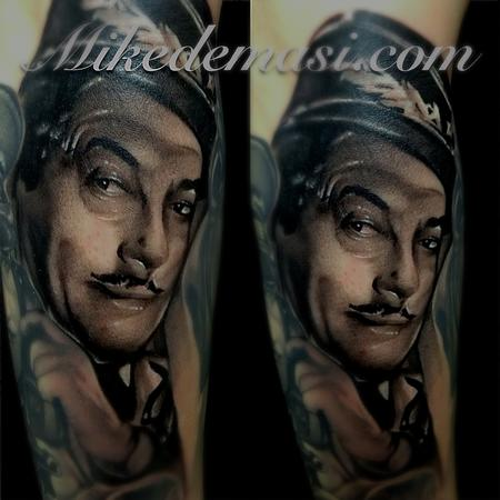 Tattoos - Casablanca black and gray tattoo addition  - 73923