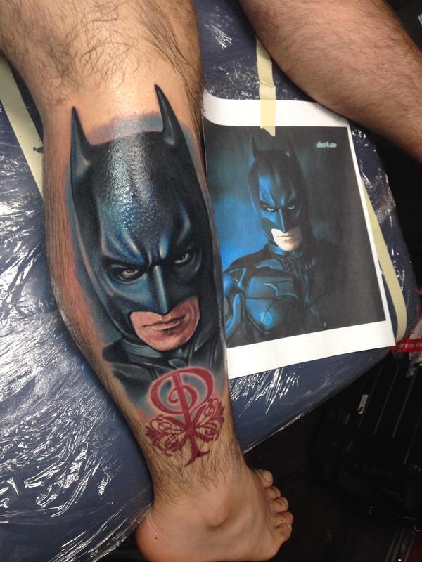 Batman Dark Knight Tattoo By London Reese TattooNOW