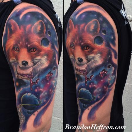Tattoos - Fox Space Jelly - 123412