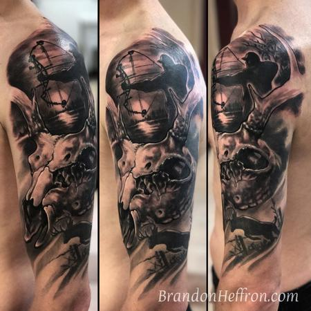 Tattoos - Deer Hunter - 123414