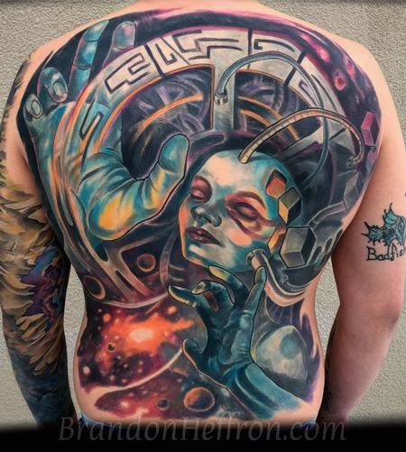 Tattoos - Space Babe - 133033