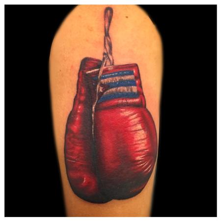 Tattoos - boxing gloves - 104130