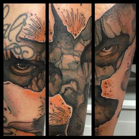 Tattoos - tribute to the crow - 91142