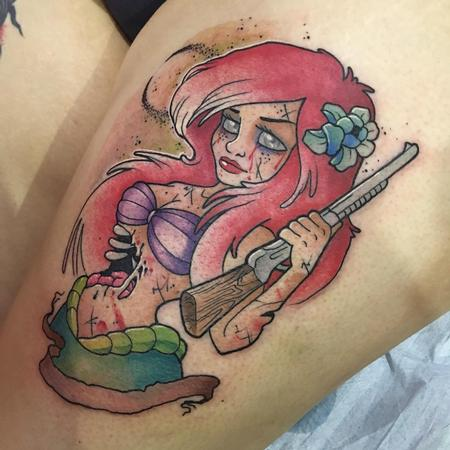 Tattoos - Zombi ariel - 131495