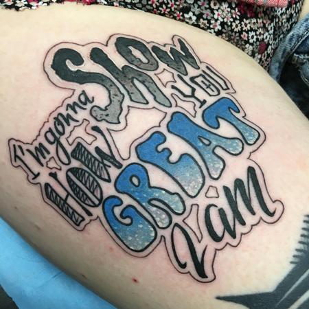 Tattoos - Quote  - 131488
