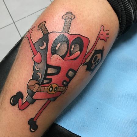 Tattoos - Deadpool bob - 131493