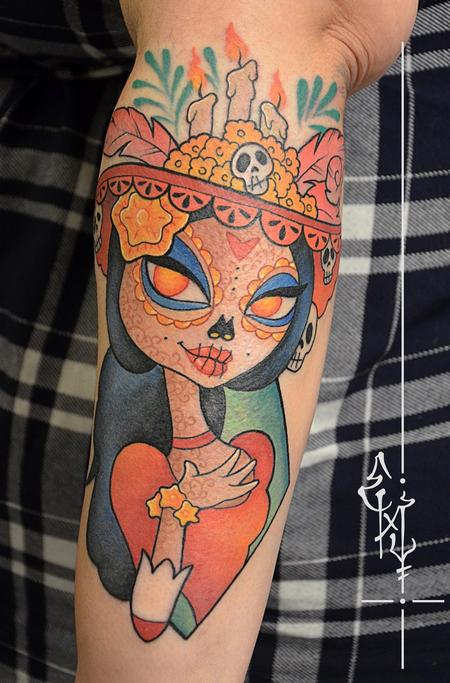 Tattoos - The book of life - 125423