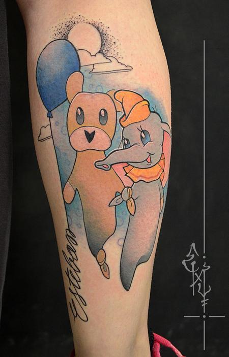 Tattoos - Cuddly  toy - 125424