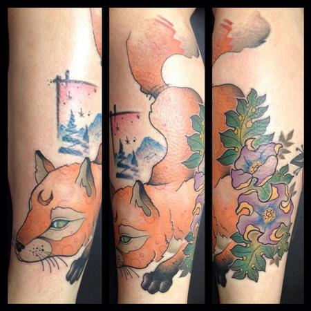 Tattoos - Fox from the mountains - 101871