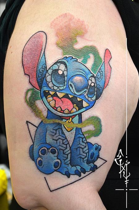 Tattoos - Stitch - 125427