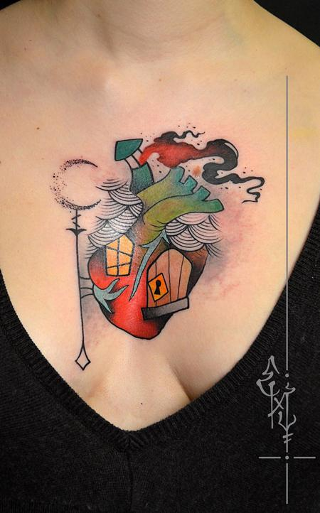 Tattoos - Home is where my heart is - 126358