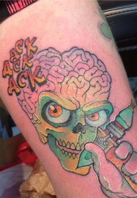 Tattoos - Mars attack - 126920