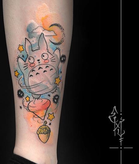 Tattoos - Totoro - 116999