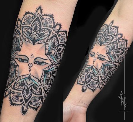 Tattoos - Mandala - 117650