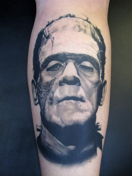 Tattoos - Frankenstein's  Monster - 132374