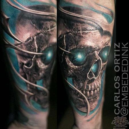 Tattoos - Realism Skull - 132033