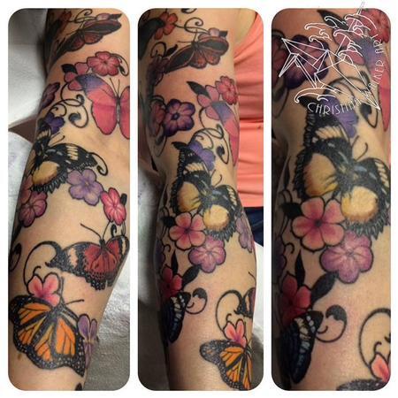 Christina Walker - Butterflies and Flowers