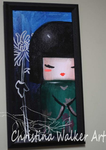 Christina Walker - Kokeshi Doll