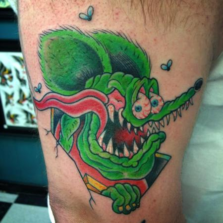 rat fink by william tattoonow. Black Bedroom Furniture Sets. Home Design Ideas