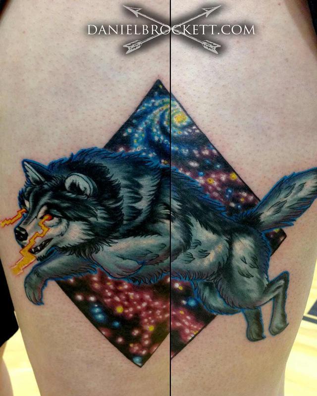 X space tattoo
