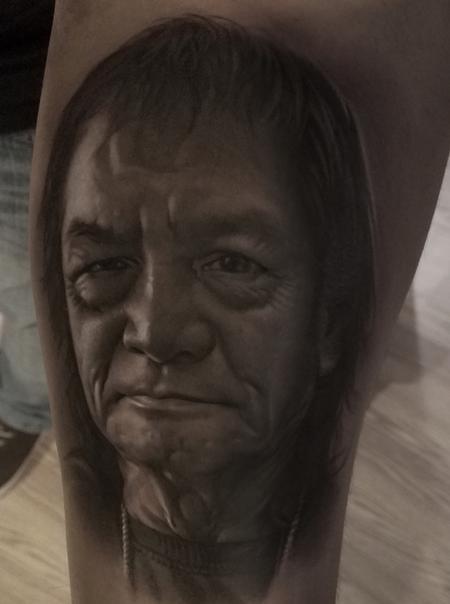 Tattoos - David Vega Portrait of a Man - 131075