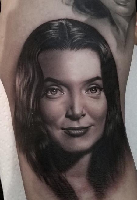 Tattoos - David Vega Morticia Adams - 131076