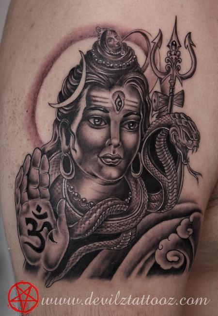Tattoos - Lord shiva tattoo - 77858