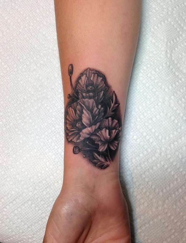 Poppy flowers by mr jones tattoonow mr jones poppy flowers mightylinksfo