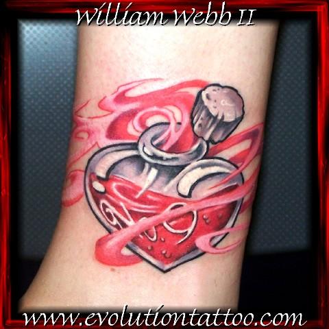Love potion no 9 by billy webb ii tattoonow for Evolution tattoo studio