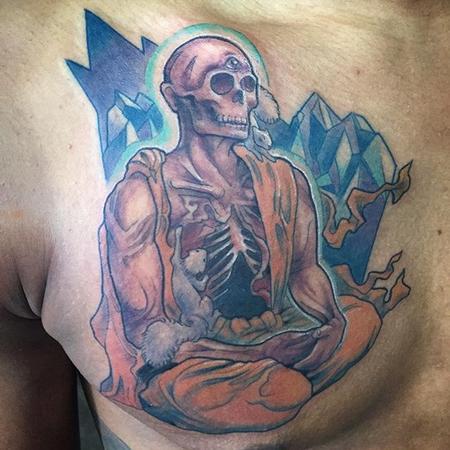 Flowerhead - Undead monk