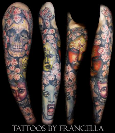 Tattoos - Horror Sleeve - 130605