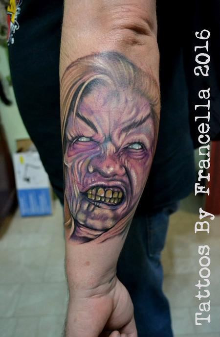 Tattoos - Witch from Army of Darkness - 126381