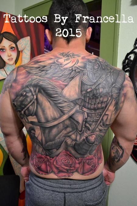 Tattoos - Giant Cover-Up Backpiece - 127238