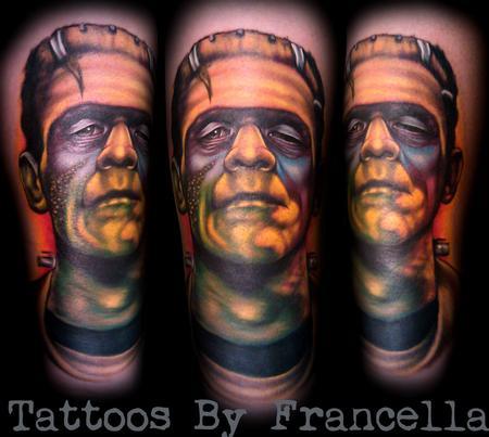 Tattoos - Frankenstein's Monster - 126601