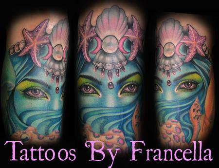 Tattoos - Sea Goddess - 126554