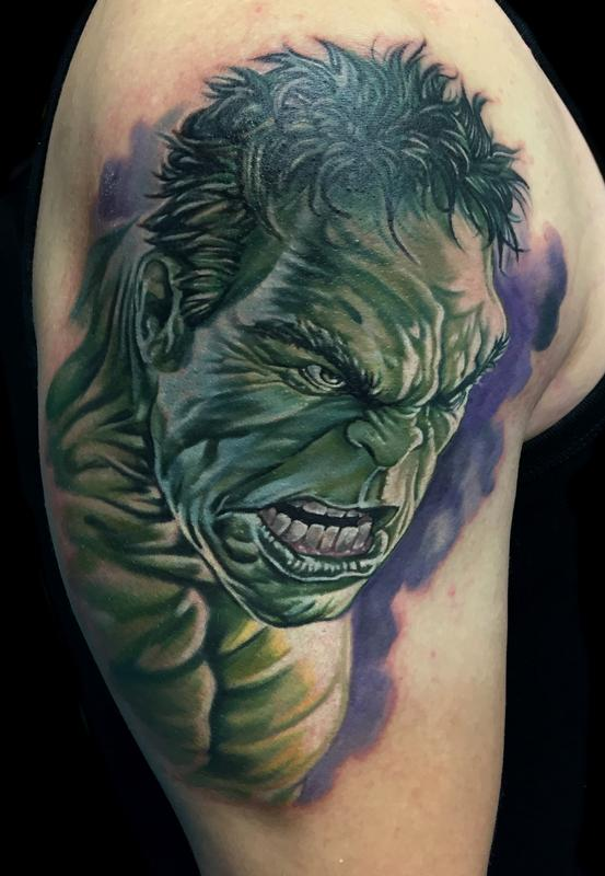 Josh Bodwell   Hulk