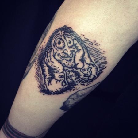 Tattoos - R. Crumb Stoned Agin tattoo - 123259