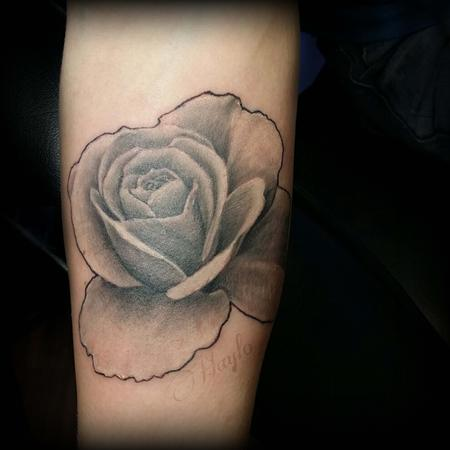 Haylo - Realistic Rose cover up