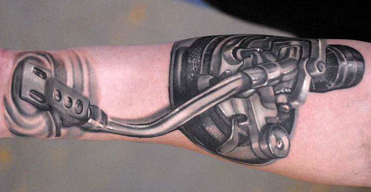 Technics Tonearm By Ryan Hadley TattooNOW